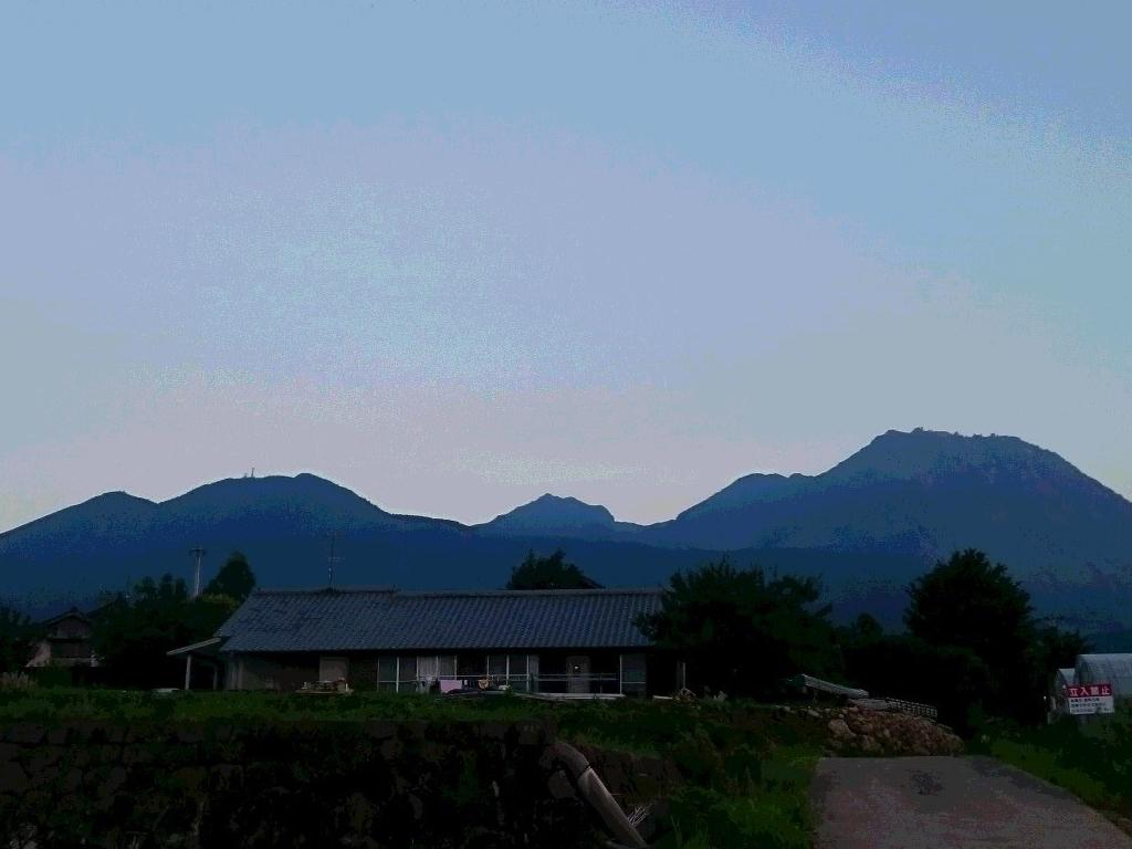 早朝の平成新山です!